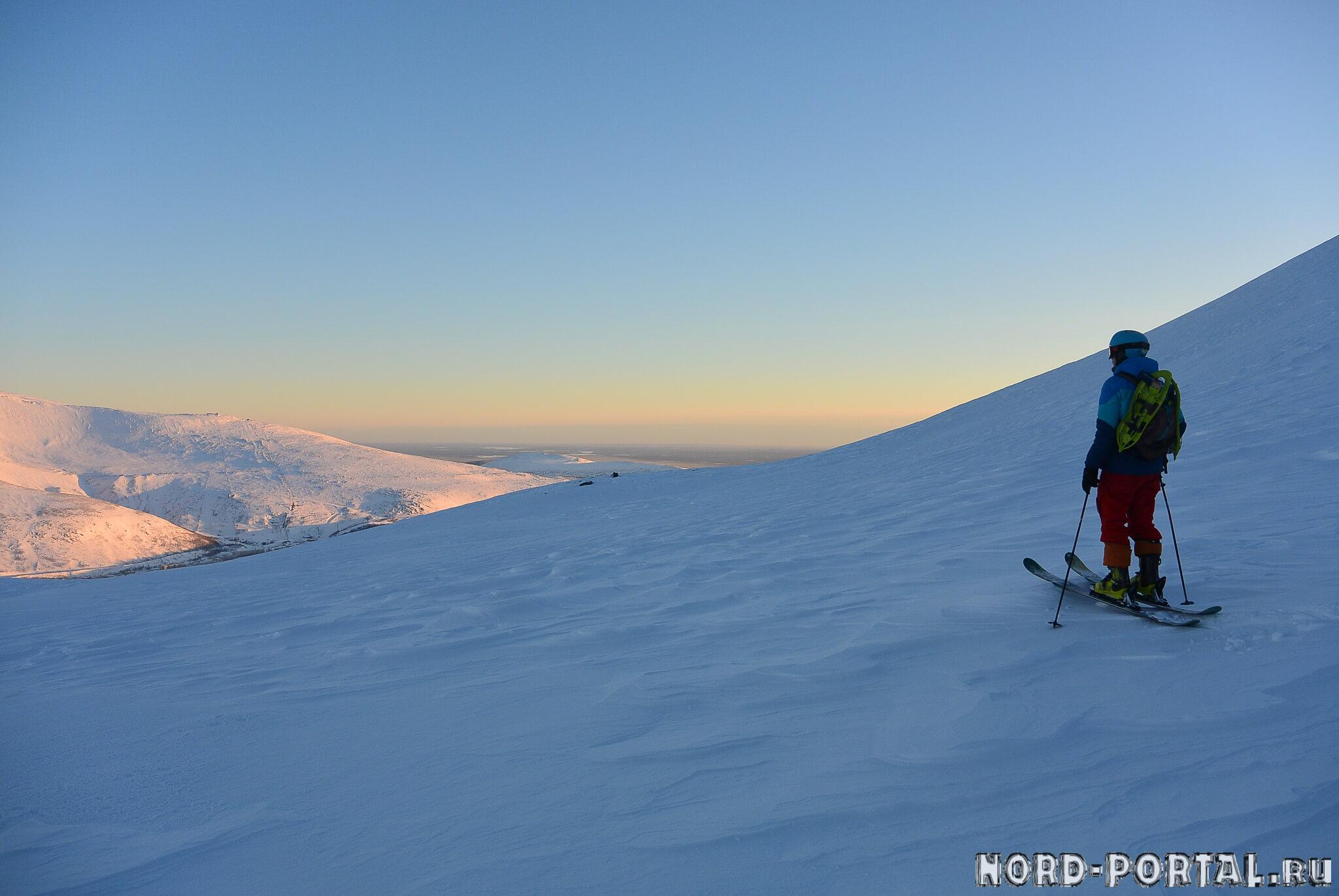 Солнце, снег, горы