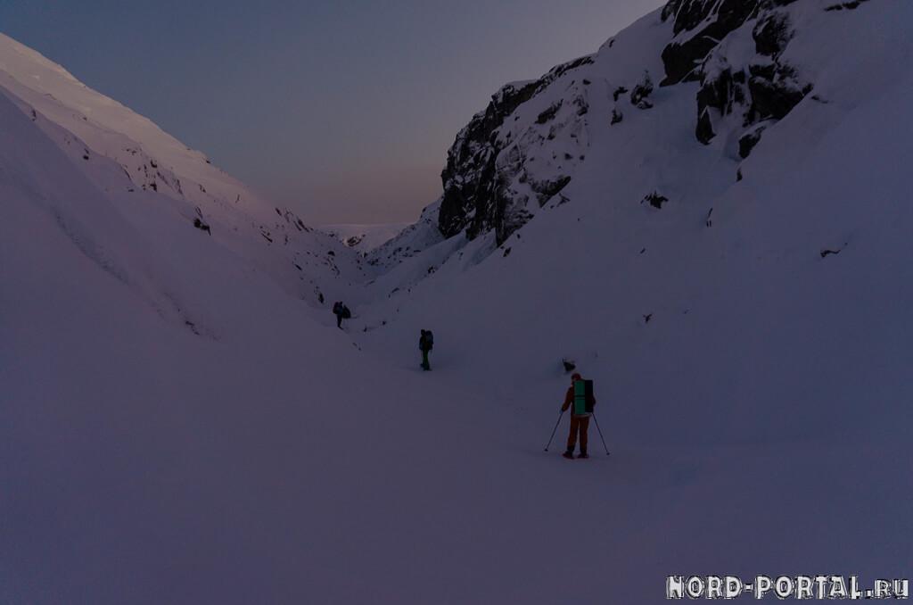 Хибинский снегоступинг